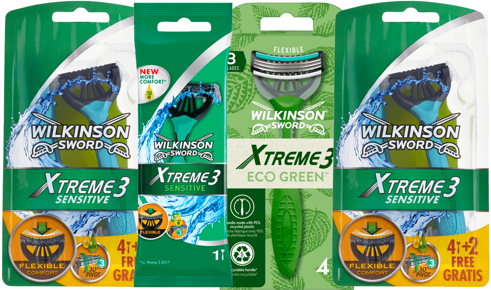 Wilkinson Xtreme 3 sensitive aanbiedingen