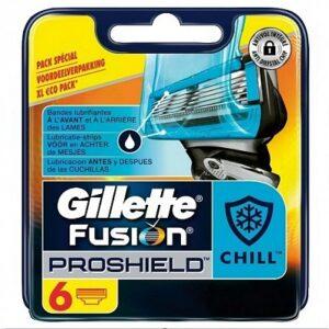 Gillette Fusion ProShield scheermesjes   6 stuks