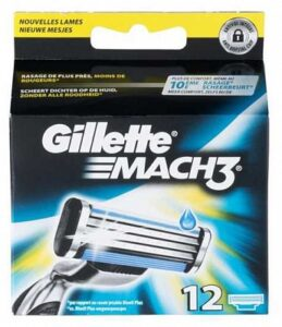 Gillette Mach 3 scheermesjes | 12 stuks