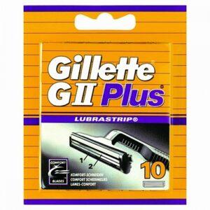 Gillette GII scheermesjes | 10 stuks