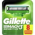 Gillette Mach 3 Sensitive scheermesjes   8 stuks