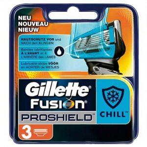 Gillette Fusion ProShield scheermesjes | 3 stuks