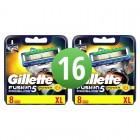 Gillette Fusion ProGlide scheermesjes | 16 stuks