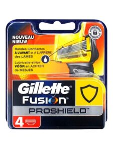 Gillette Fusion ProShield scheermesjes | 4 stuks