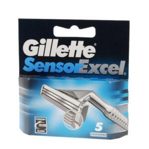 Gillette Sensor scheermesjes   5 stuks