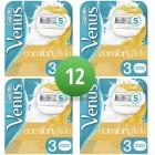 Gillette Venus scheermesjes | 12 stuks