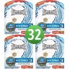 Wilkinson Hydro 3 scheermesjes   3 stuks