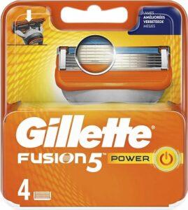 Gillette Fusion scheermesjes | 4 stuks