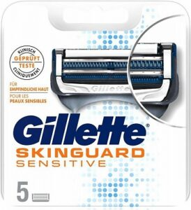 Gillette Skinguard scheermesjes   5 stuks