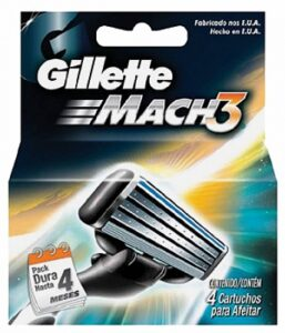 Gillette Mach 3 scheermesjes | 4 stuks